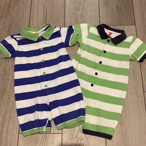 2 Hanna Andersson shortie outfits 18-24mo (80cm)